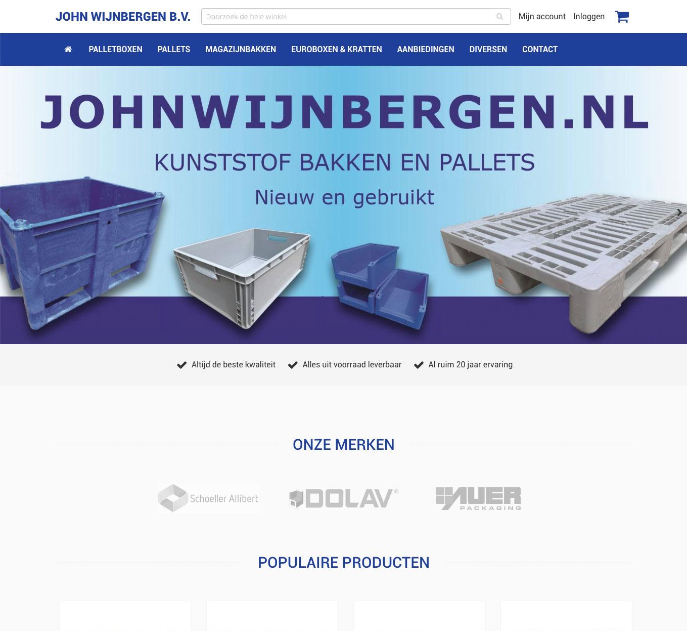 John Wijnbergen webshop
